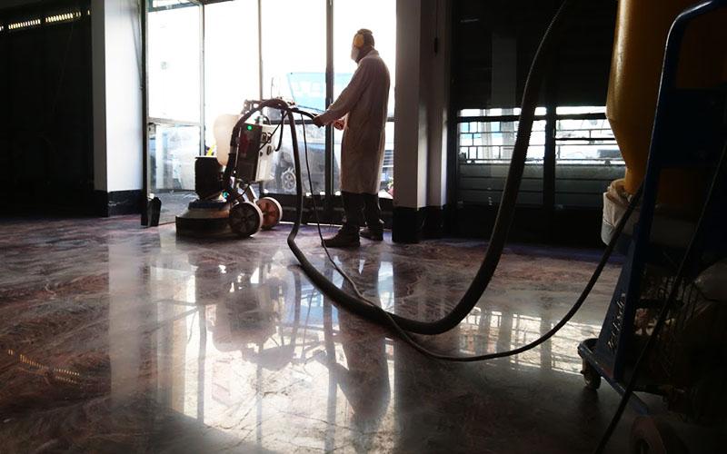 lucidatura pavimenti cemento industriale